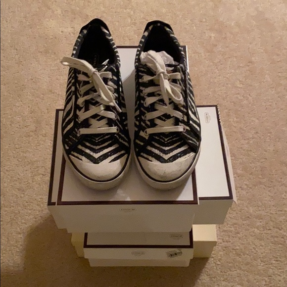 Coach Shoes   Womens Sneakers Used